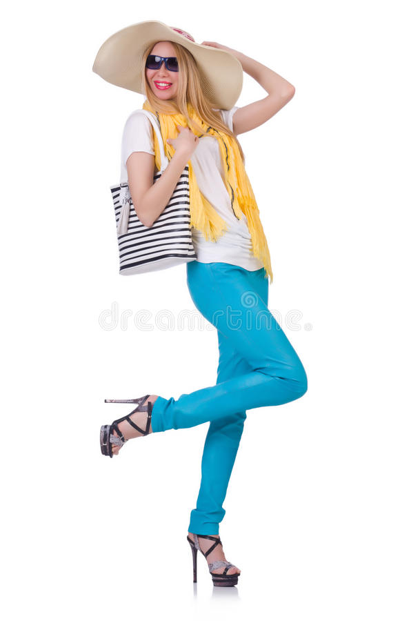 Download Young attractive woman stock photo. Image of travel, person - 32218852