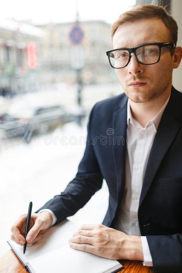 Young author stock images