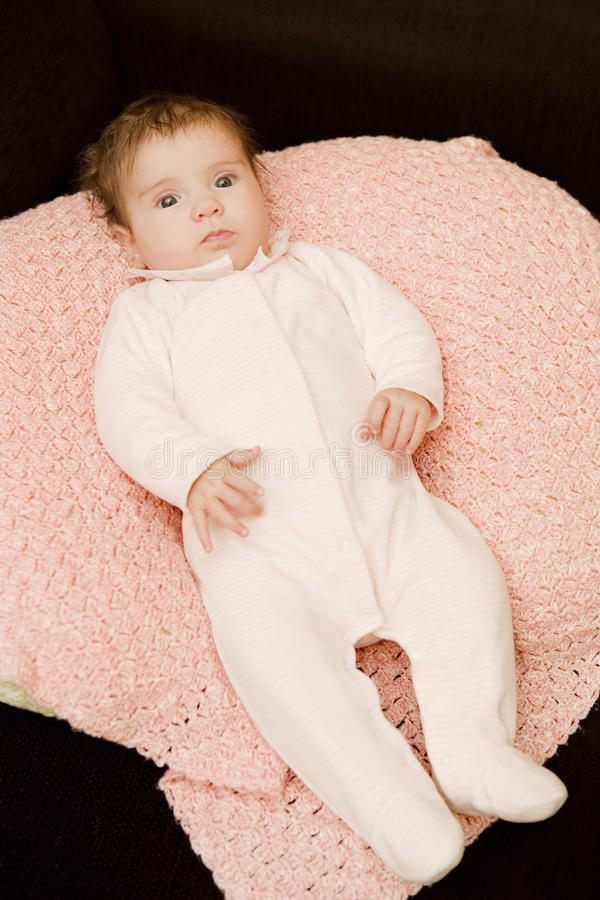 Young baby royalty free stock photo