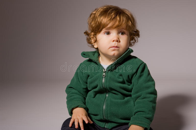 Young baby royalty free stock photos