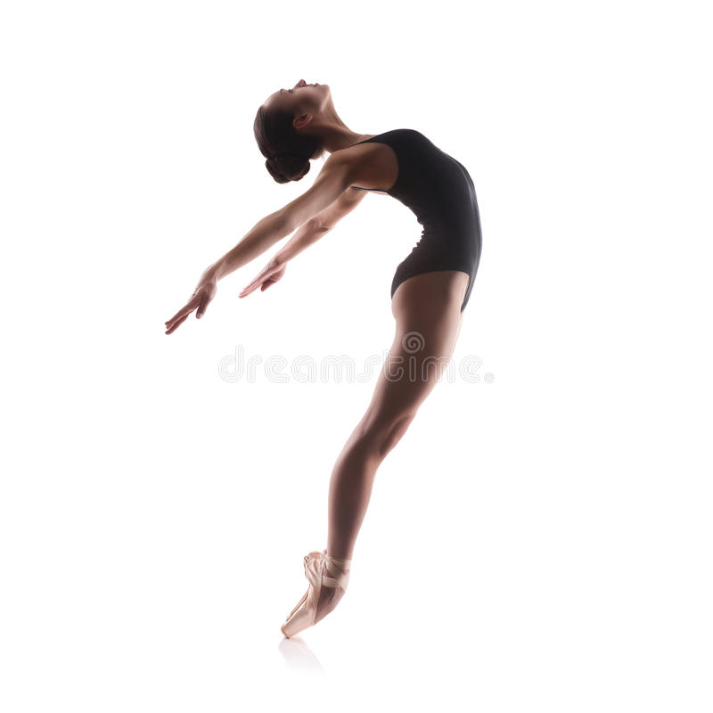 Young balet dancer stock photography