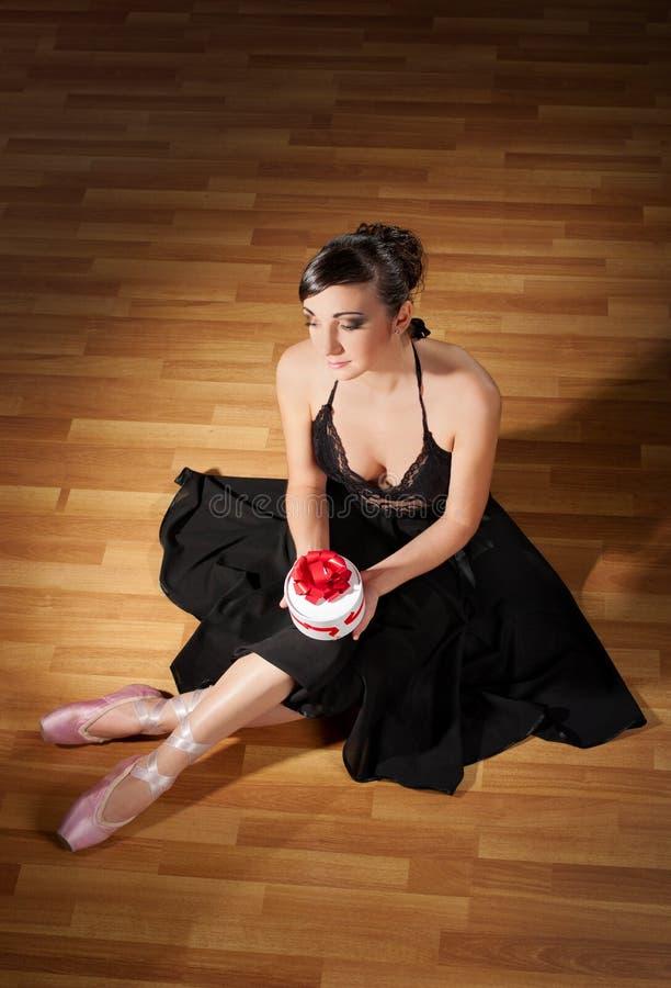 Download Young ballerina stock image. Image of girl, beauty, black - 22225725