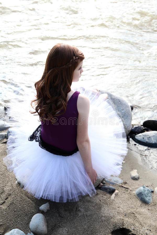 Young ballerina royalty free stock images