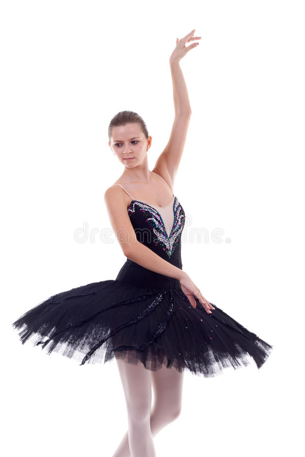 Young Ballerina Posing royalty free stock images