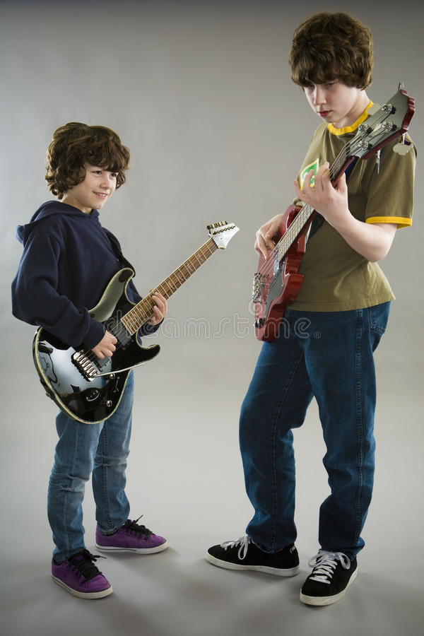 Download Young band stock photo. Image of bass, guitar, kids, rockers - 13772850