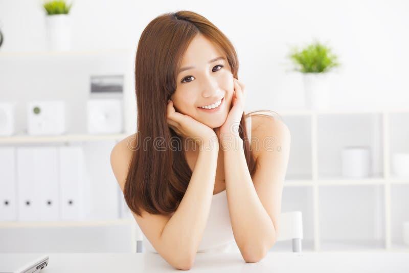 Young beautiful asian woman stock images