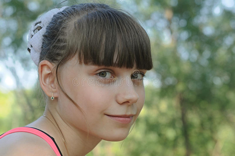 Download Young Beautiful Attractive Girl Stock Image - Image: 25995067