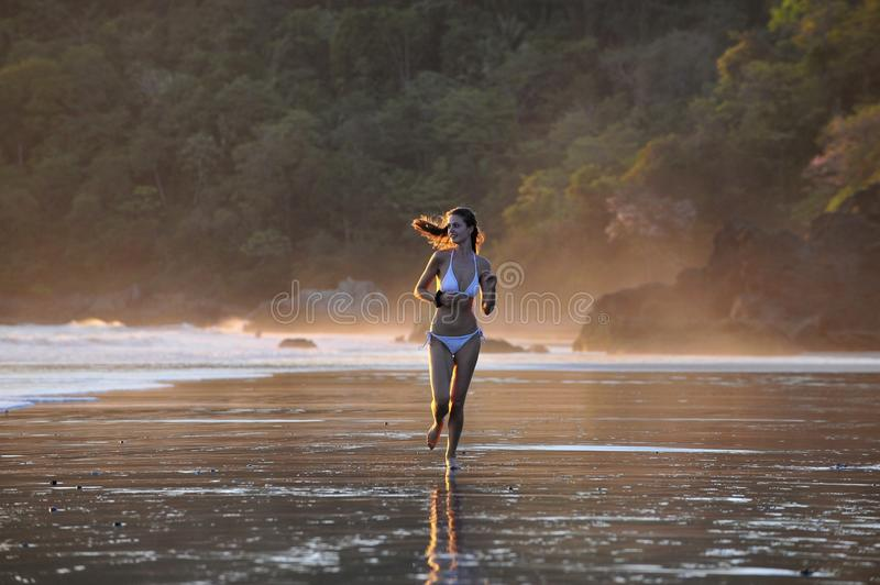 Download Young Beautiful On A Beach. Stock Photo - Image: 16666572