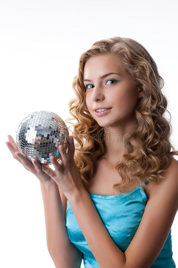 Young Beautiful Blonde Woman stock image