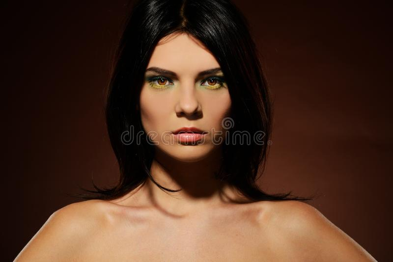 Download Young Beautiful Brunette Woman Stock Photo - Image: 34644726