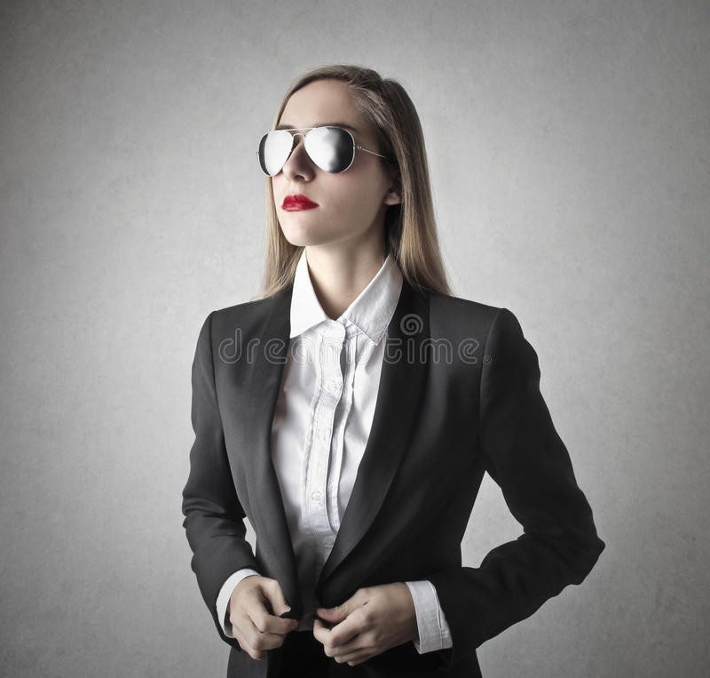 Download Young Beautiful Business Woman Stock Image - Image of caucasian, sunglasses: 39501191