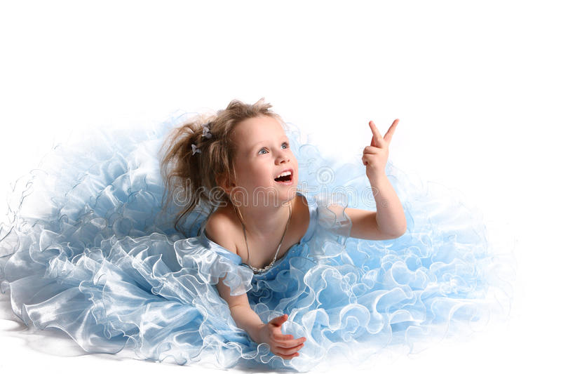 The Young Beautiful Girl Royalty Free Stock Images