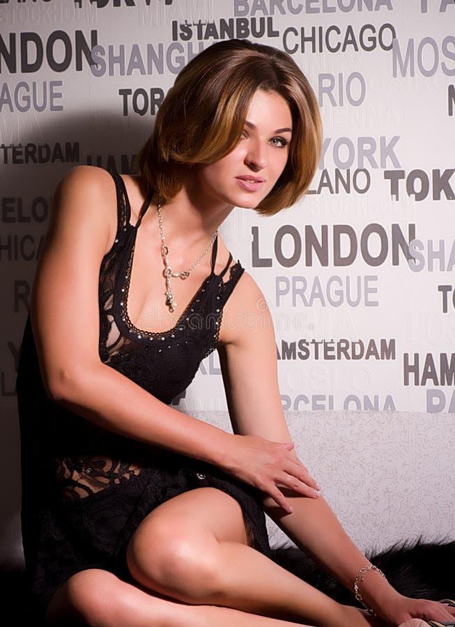 Young beautiful girl royalty free stock photos