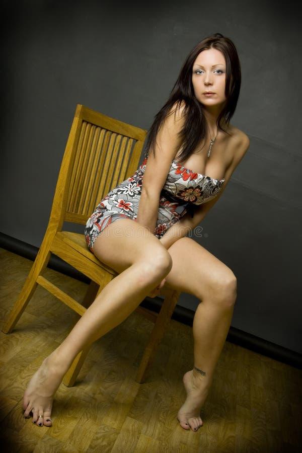 Download Young beautiful girl stock photo. Image of glamorous, feminine - 7696822