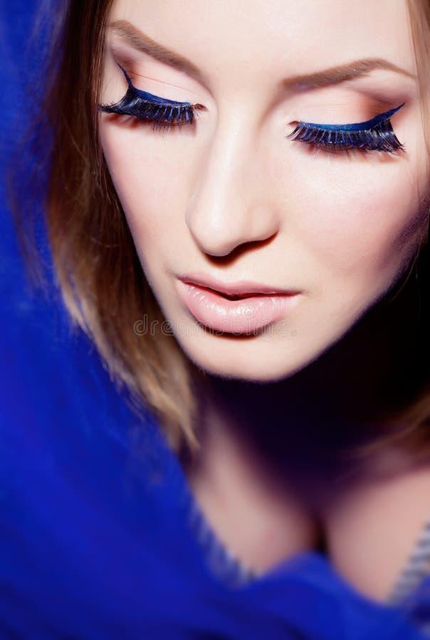 Download Young Beautiful Girl In Studio Stock Image - Image: 24250139