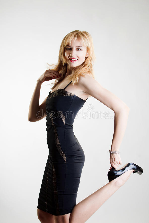 Download Young Beautiful High Blonde Stock Image - Image: 18070975