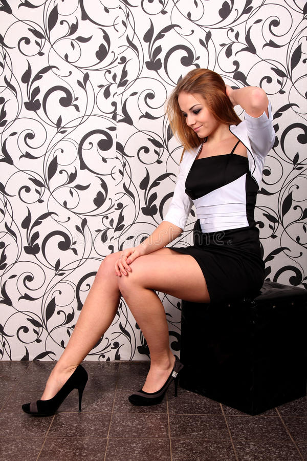 Download Young beautiful woman stock image. Image of brightly - 25631107
