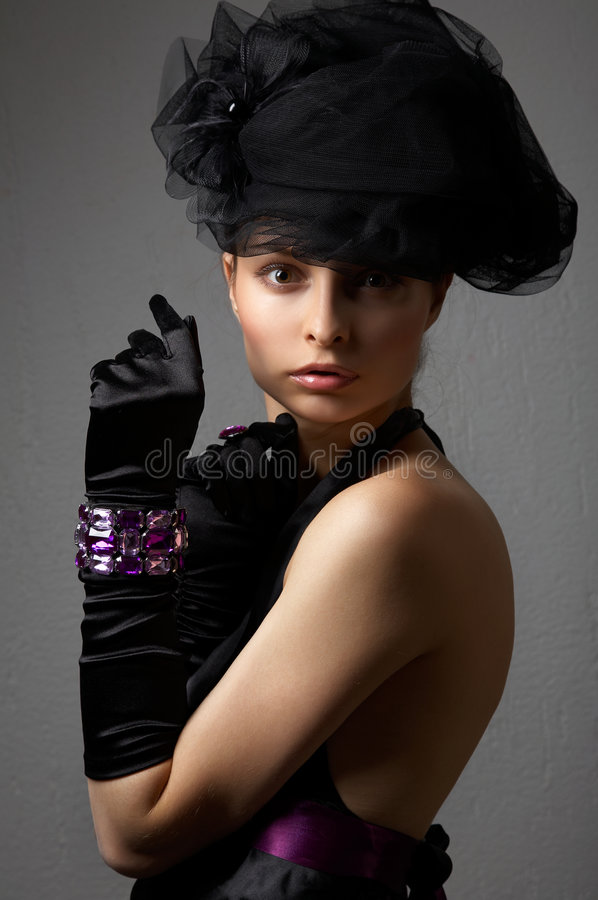 Download Young beautiful woman stock photo. Image of model, luxury - 7313664