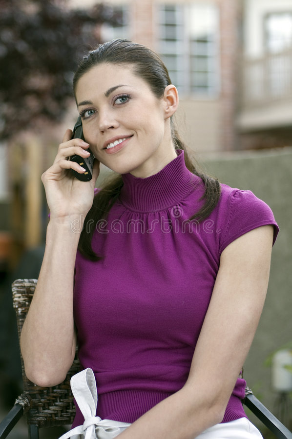 Download Young beautiful woman stock image. Image of background - 9097807
