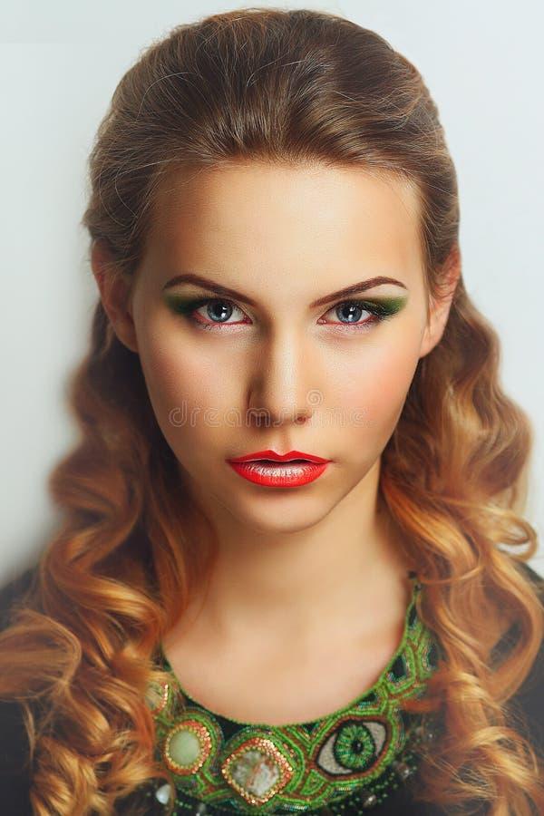 Woman perfect beauty royalty free stock photo