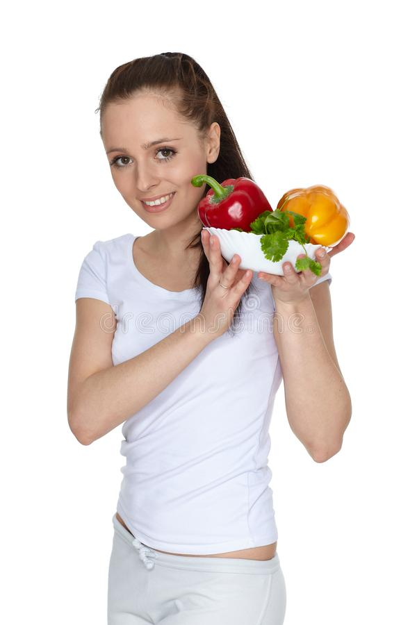 Concept of healthy food stock photo