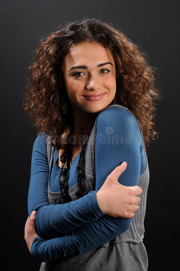 Young Beautiful Woman S Portrait Stock Photos