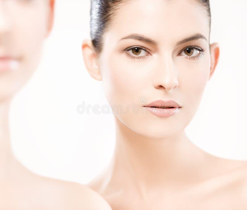 Young beautiful women stock photos