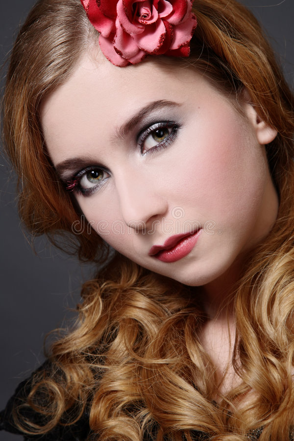 Young beauty royalty free stock photo