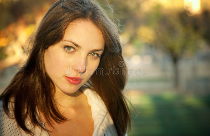 Download Young Beauty stock image. Image of face, fashion, portrait - 7560833