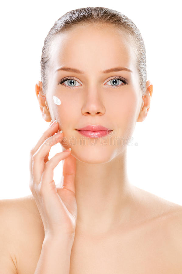 Young beauty stock photo
