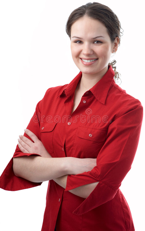 Download Young Beauty Business Woman Stock Image - Image: 5205229
