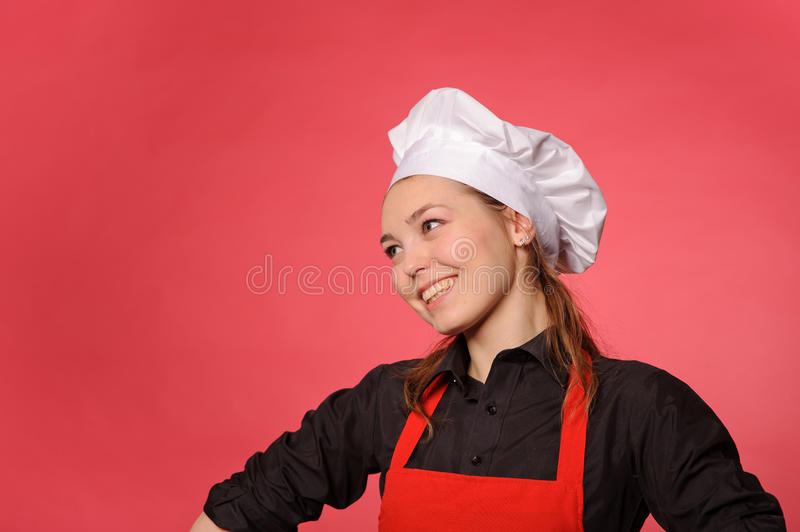 Download Young beauty cook stock image. Image of uniform, woman - 25509689