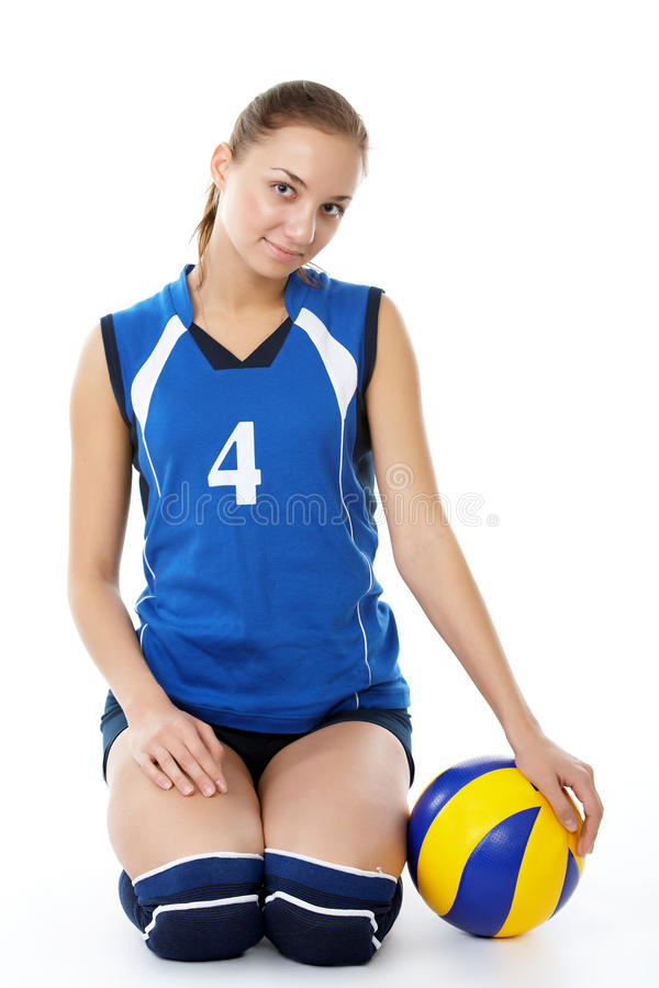 Download Young, Beauty Volleyball Player Stock Photo - Image: 13172344