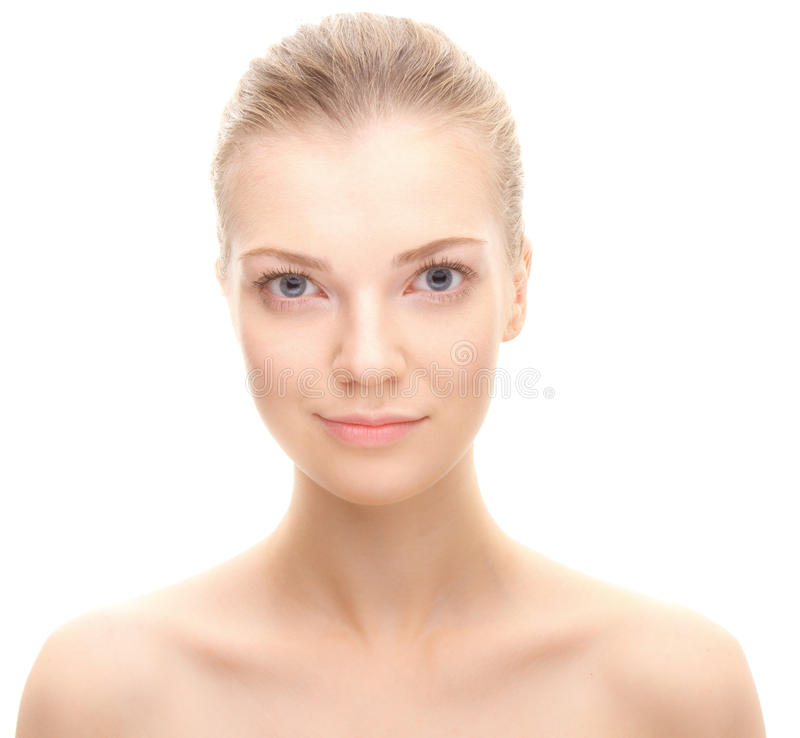 Young beauty woman stock photo
