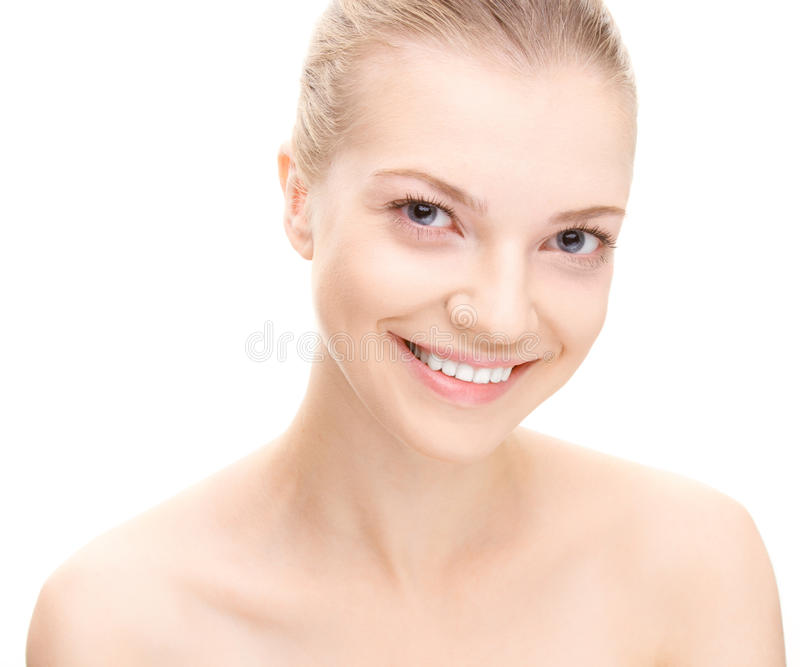 Young beauty woman portrait royalty free stock photography