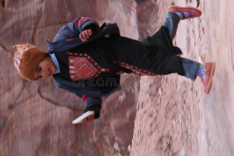 Young Bedouin girl stock image