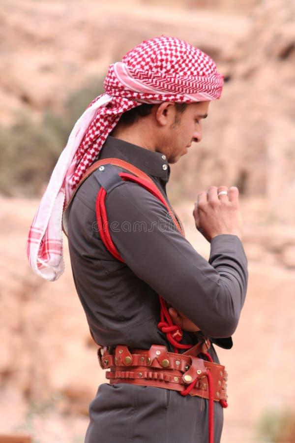 Young Bedouin Man Editorial Photo