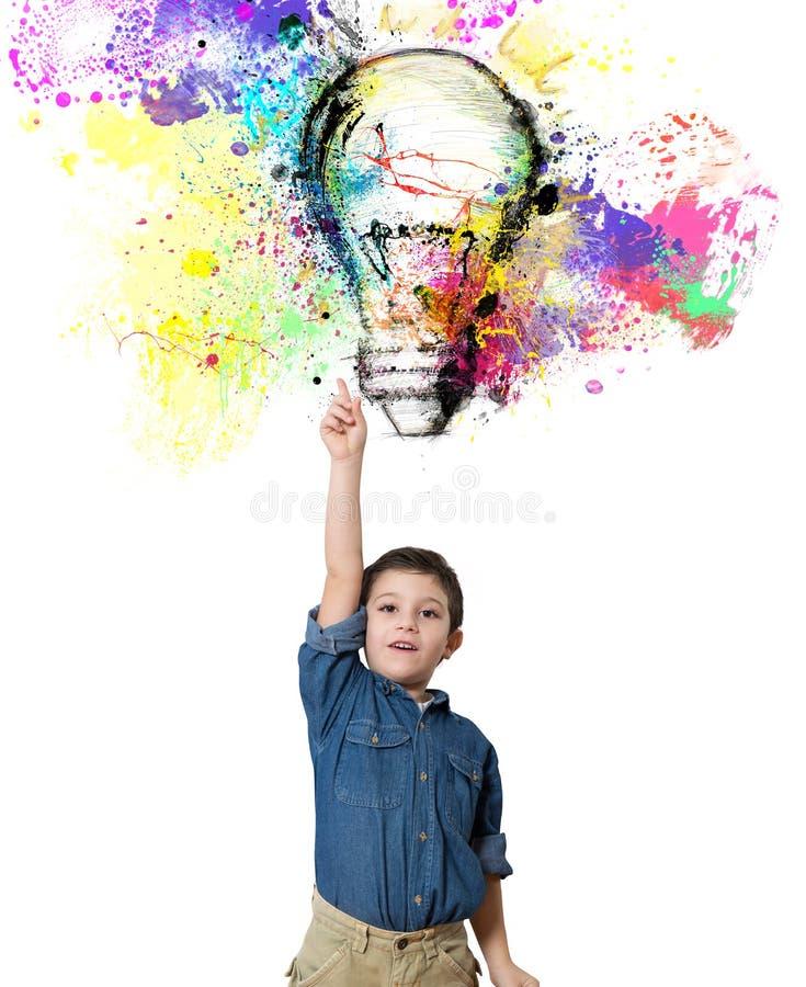 Young big idea stock image