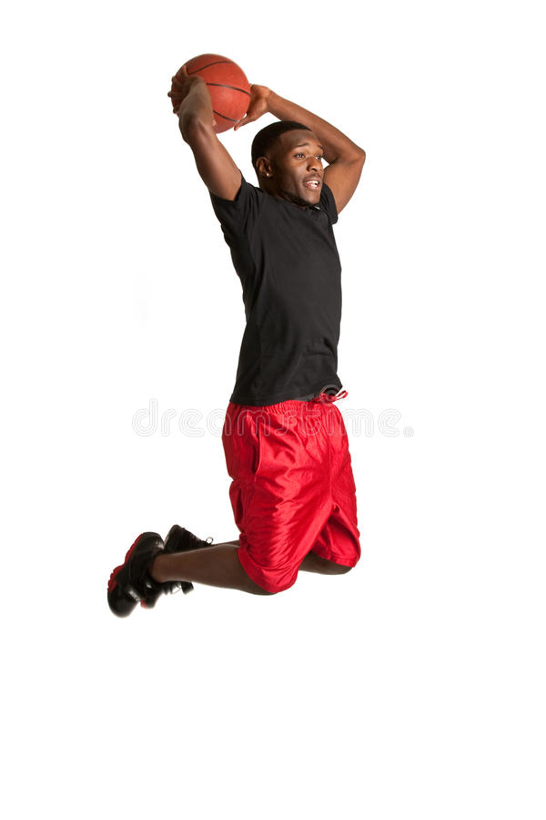 Download Young Black College Student Playing Basket Ball Stock Photo - Image: 21702894
