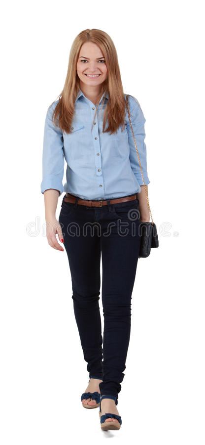 Download Young blonde woman stock photo. Image of happy, person - 24202526