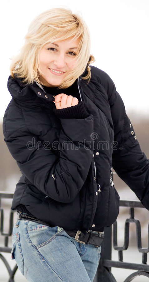 Free Young Blonde Women With A Winsome Smile Stock Photo - 4135140