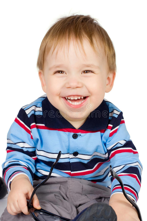 Young boy stock photos