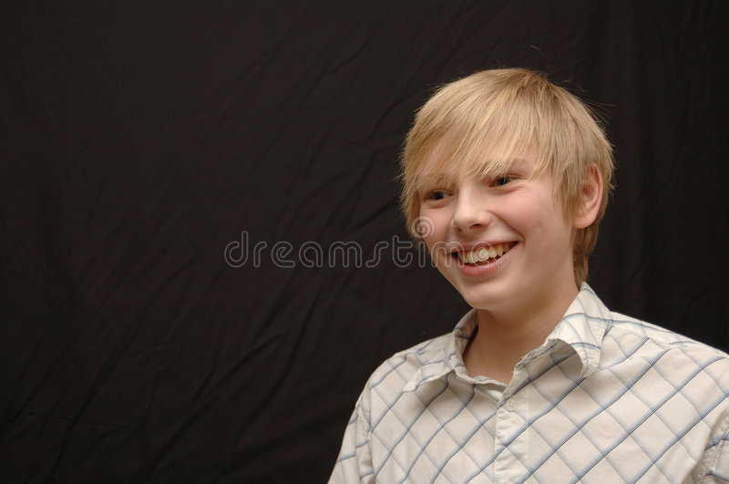 Download Young boy stock image. Image of blond, junior, smiling - 2140513