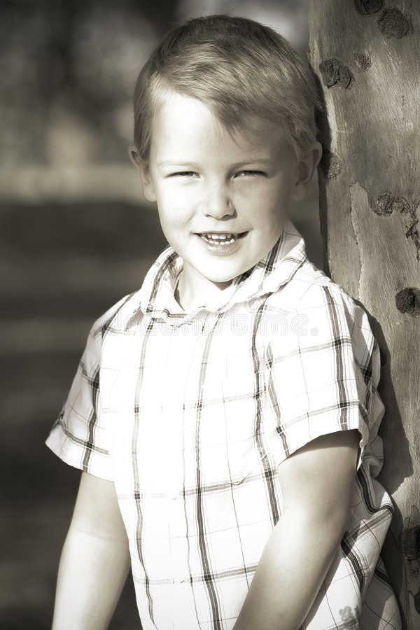 Young boy royalty free stock photo