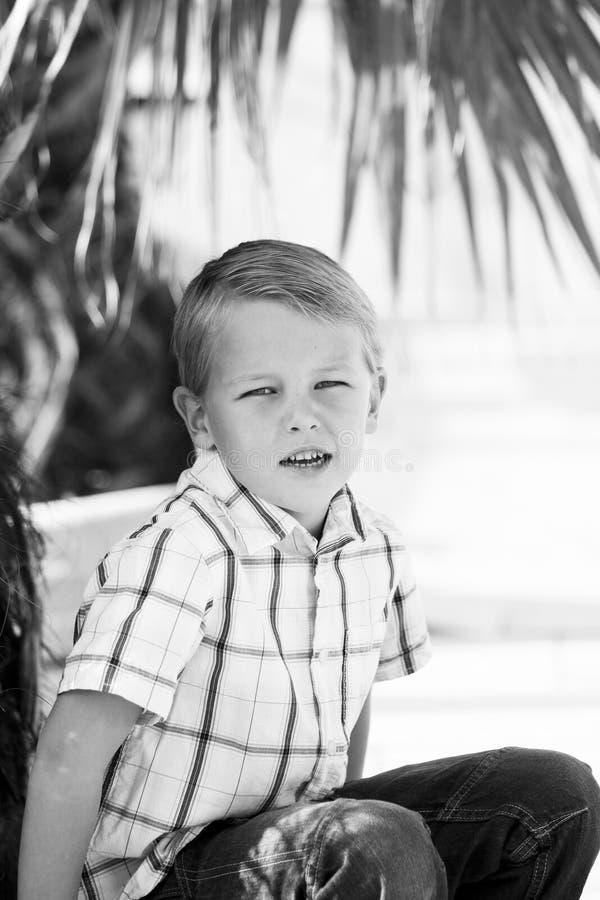 Young boy stock photos
