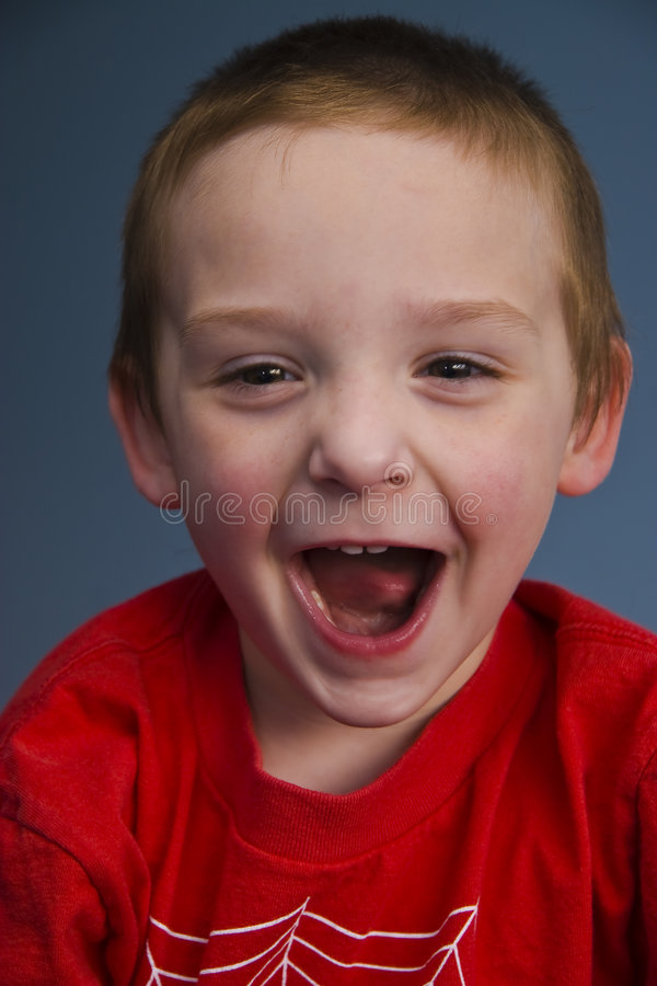 Download Young Boy 8076 stock image. Image of mouth, laugh, happy - 4745769