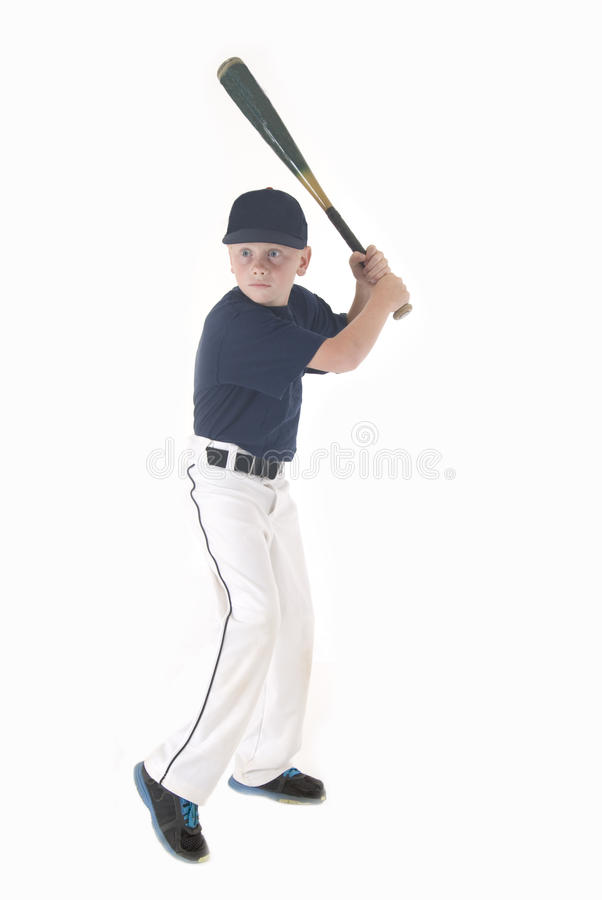 Download Young Boy In Batting Stance Stock Image - Image of ball, league: 33092063