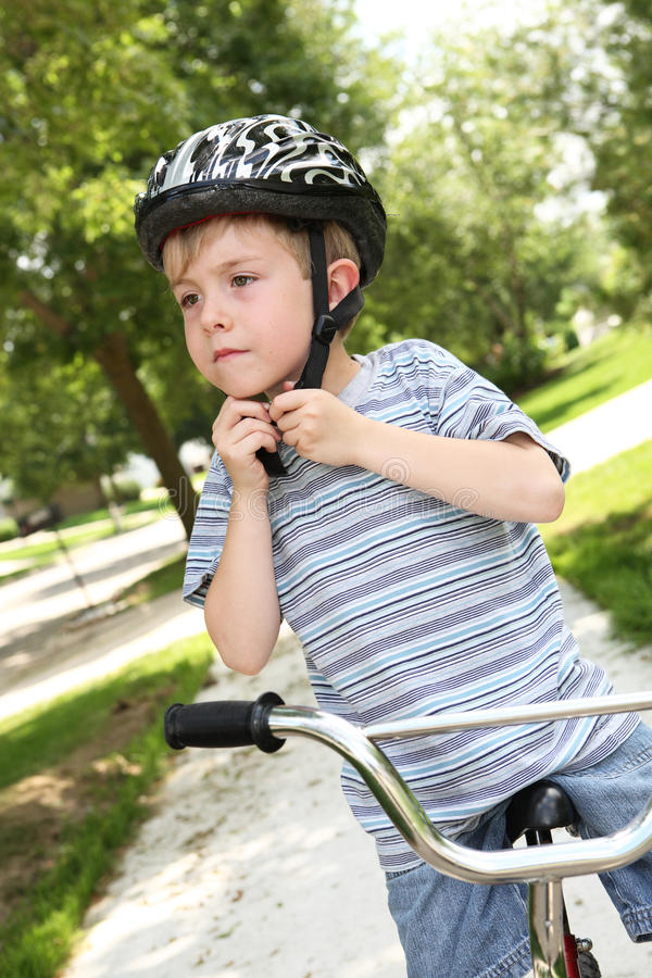 Download Young boy on a bike stock image. Image of youth, handlebars - 17769281