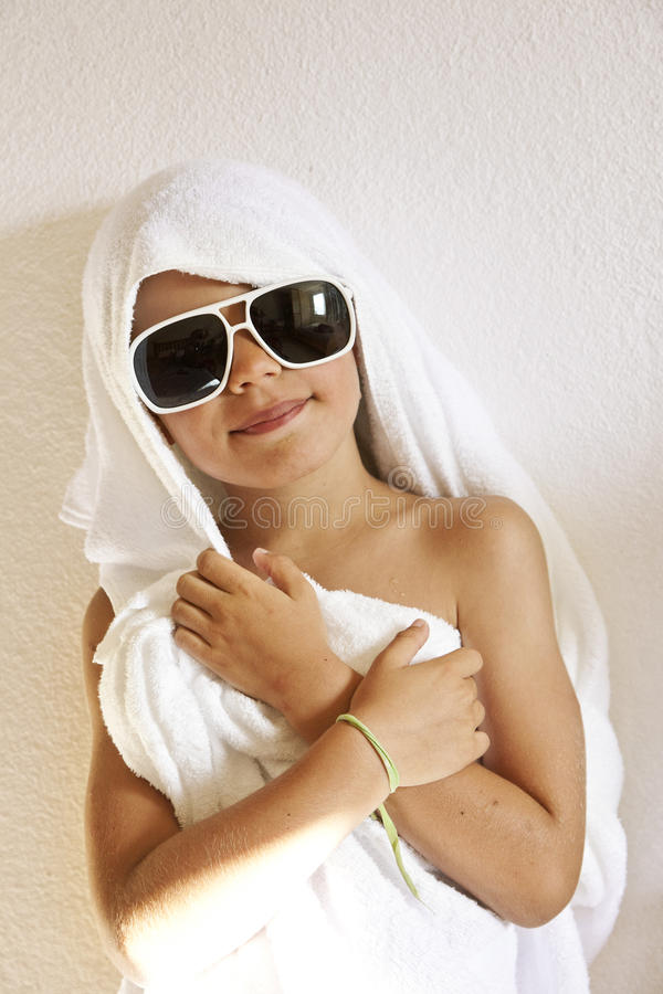 Download Young Boy Dries Stock Photos - Image: 25693413