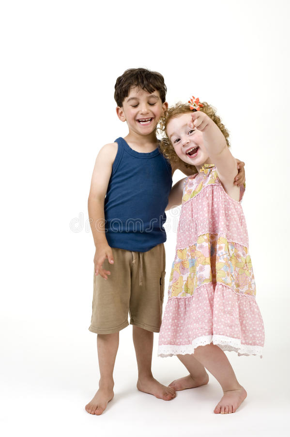 Download Young boy and girl stock image. Image of couple, females - 14754241
